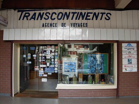 Transcontinents-vitrine