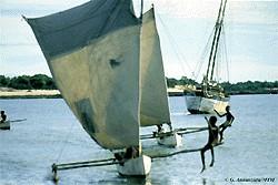 Vezo Mer Pirogue Madagascar